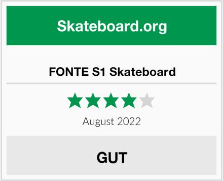 FONTE S1 Skateboard Test