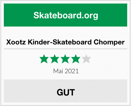 Xootz Kinder-Skateboard Chomper Test