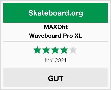 MAXOfit Waveboard Pro XL Test