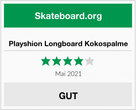 Playshion Longboard Kokospalme Test