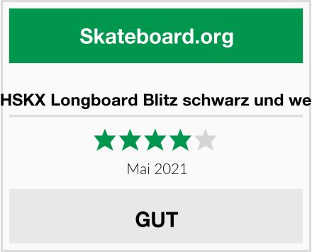 KHSKX Longboard Blitz schwarz und weiß Test