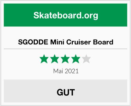 SGODDE Mini Cruiser Board Test