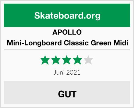 APOLLO Mini-Longboard Classic Green Midi Test