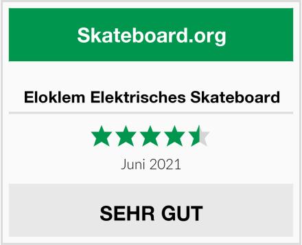 Eloklem Elektrisches Skateboard Test