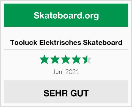 Tooluck Elektrisches Skateboard Test
