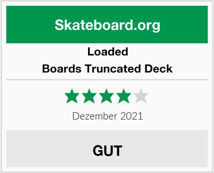 Loaded Boards Truncated Deck Test