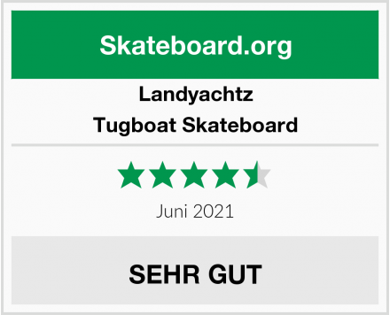 Landyachtz Tugboat Skateboard Test