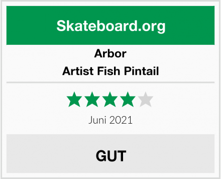 Arbor Artist Fish Pintail Test