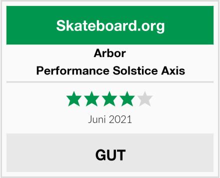 Arbor Performance Solstice Axis Test