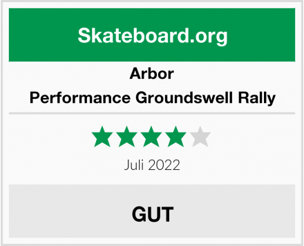 Arbor Performance Groundswell Rally Test