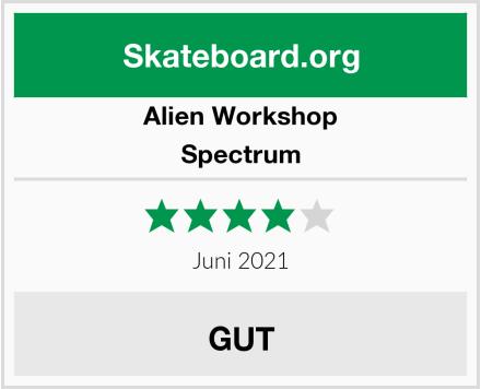 Alien Workshop Spectrum Test