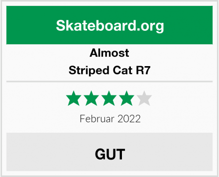 Almost Striped Cat R7 Test