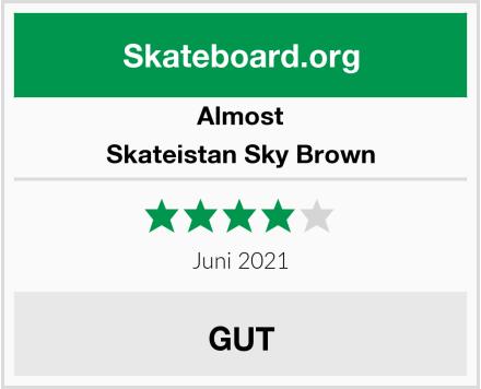 Almost Skateistan Sky Brown Test