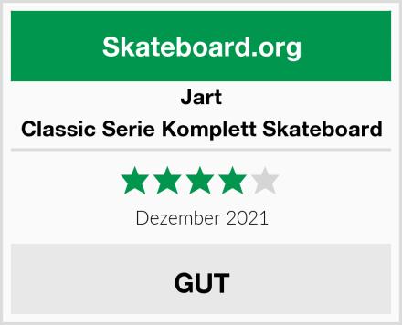 Jart Classic Serie Komplett Skateboard Test