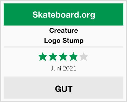 Creature Logo Stump Test