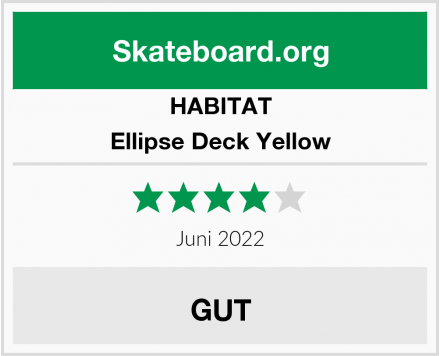 HABITAT Ellipse Deck Yellow Test