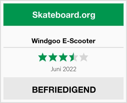 Windgoo E-Scooter Test