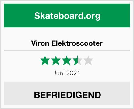 Viron Elektroscooter Test