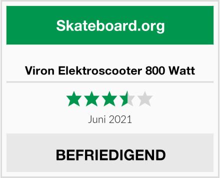 Viron Elektroscooter 800 Watt Test