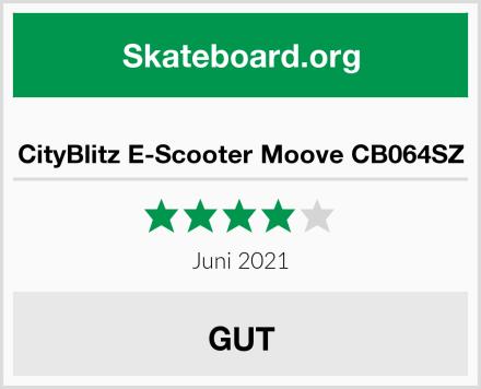 CityBlitz E-Scooter Moove CB064SZ Test
