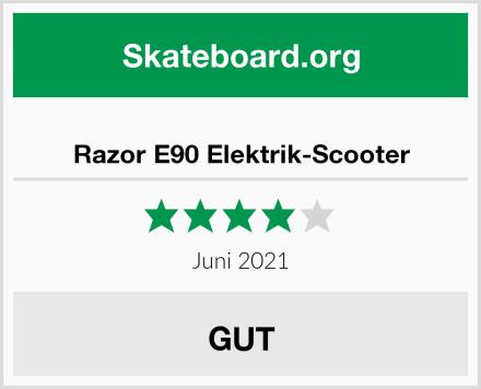 Razor E90 Elektrik-Scooter Test