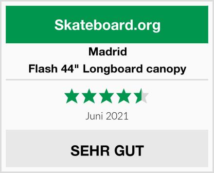 "Madrid Flash 44"" Longboard canopy Test"