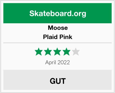 Moose Plaid Pink Test