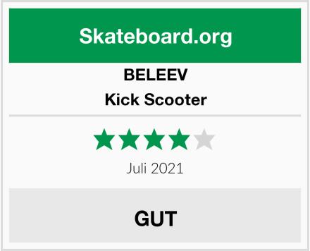 BELEEV Kick Scooter Test
