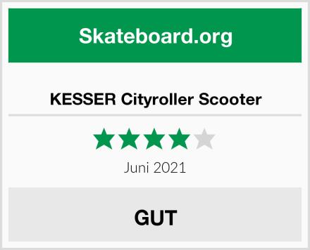 KESSER Cityroller Scooter Test