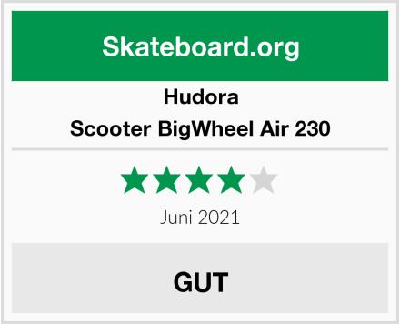 Hudora Scooter BigWheel Air 230 Test