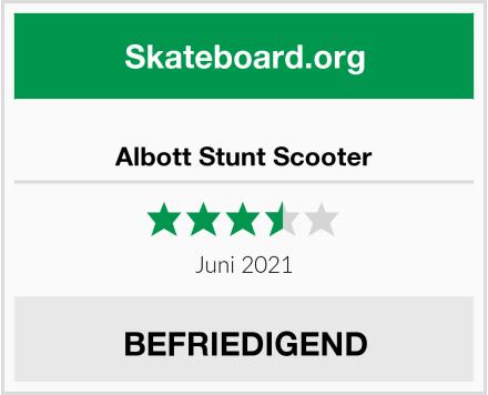 Albott Stunt Scooter Test