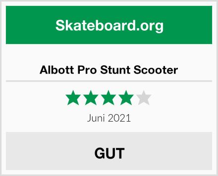Albott Pro Stunt Scooter Test