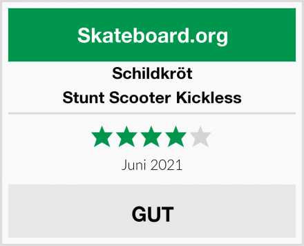 Schildkröt Stunt Scooter Kickless Test