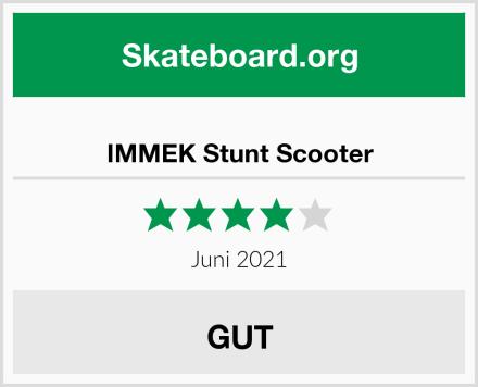 IMMEK Stunt Scooter Test