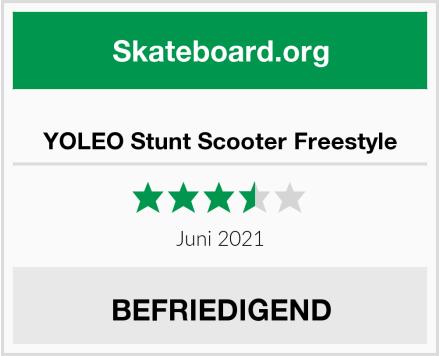 YOLEO Stunt Scooter Freestyle Test