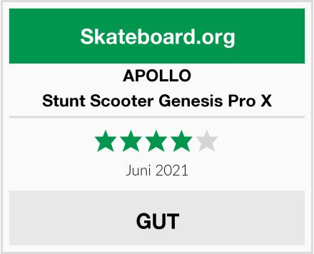 APOLLO Stunt Scooter Genesis Pro X Test
