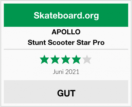 APOLLO Stunt Scooter Star Pro Test