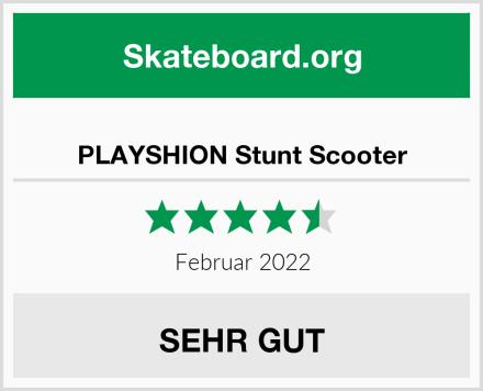 PLAYSHION Stunt Scooter Test