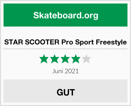 STAR SCOOTER Pro Sport Freestyle Test