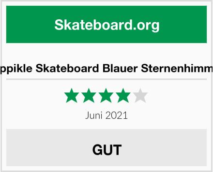 Oppikle Skateboard Blauer Sternenhimmel Test