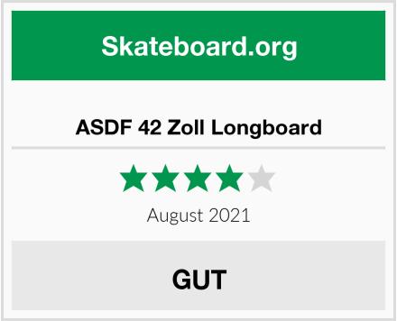 ASDF 42 Zoll Longboard Test