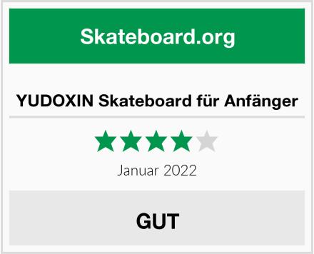 YUDOXIN Skateboard für Anfänger Test