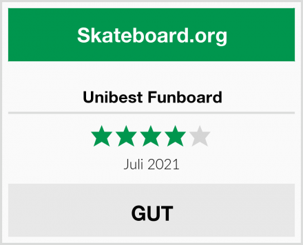 Unibest Funboard Test