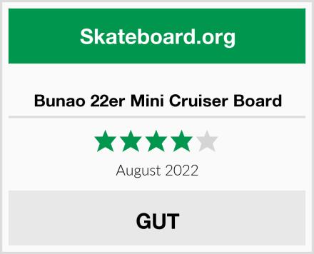 Bunao 22er Mini Cruiser Board Test