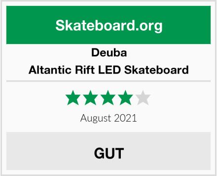 Deuba Altantic Rift LED Skateboard Test