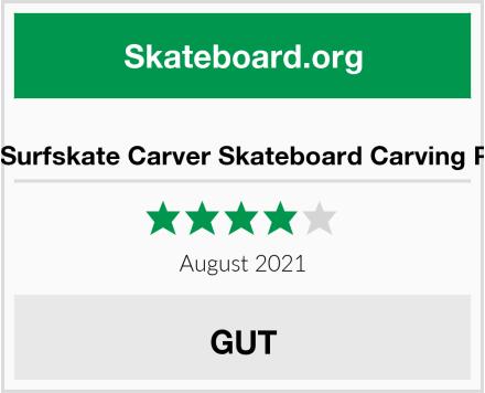 WRISCG Surfskate Carver Skateboard Carving Pumpping Test