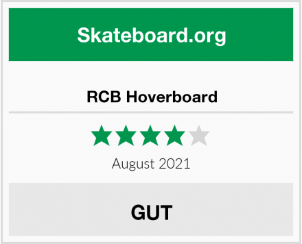 RCB Hoverboard Test