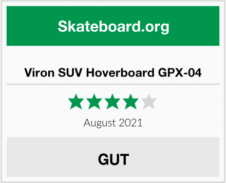 Viron SUV Hoverboard GPX-04 Test