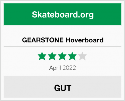GEARSTONE Hoverboard Test