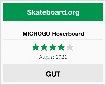 MICROGO Hoverboard Test